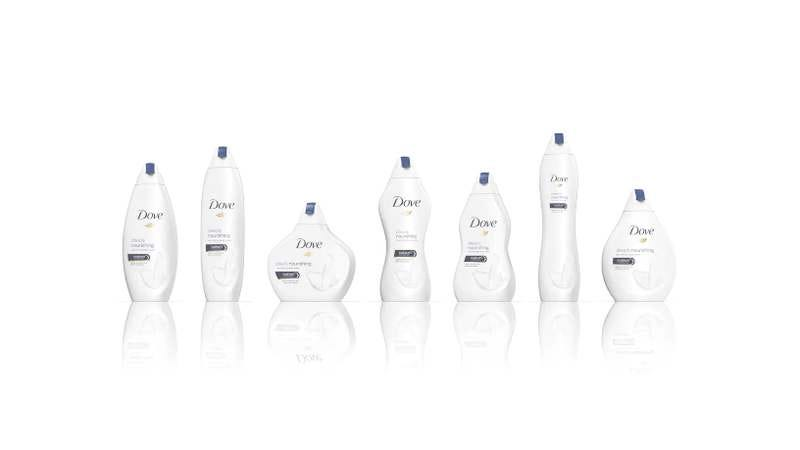 Dove releases new soap bottles that look like very weird human bodies