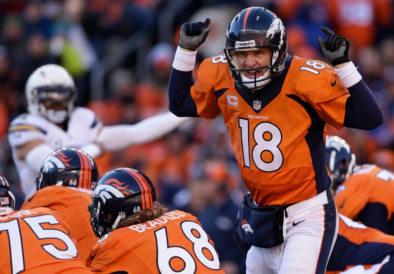 Illustration for article titled Peyton Manning Doesn't Light Up The Chargers; Broncos Win Anyway