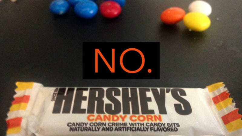 Illustration for article titled Candy Corn Is Trash and Hershey's Candy Corn Bars Are an Abomination Against God