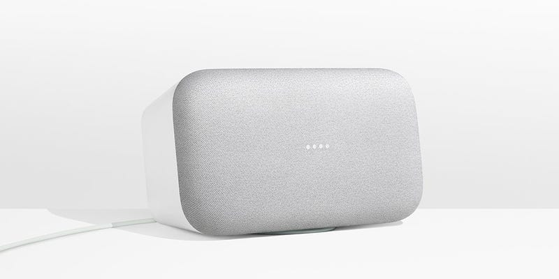 Illustration for article titled Google's Home Max Goes After HomePod With a Big Ass Sonos Clone