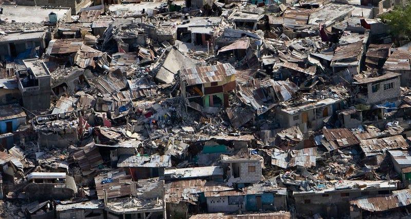 Terremoto en Haití en el 2010. Wikimedia Commons