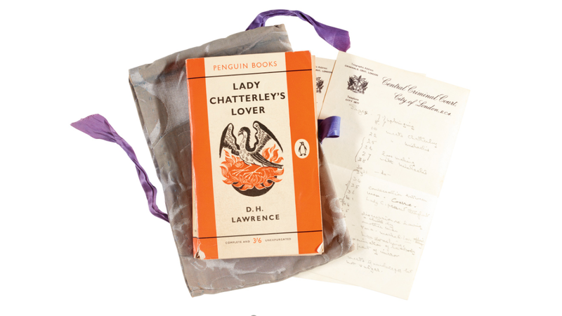 Illustration for article titled Now You Can Own a Dog-Eared Piece of Obscenity History: This Copy of Lady Chatterley's Lover