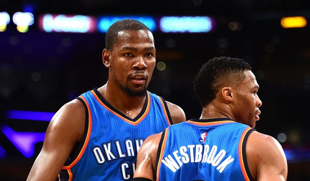 Kevin Durant And Russell Westbrook Make It All So Simple