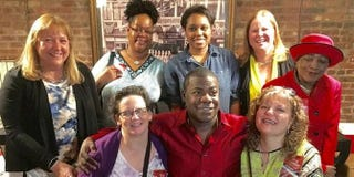 Tracy Morgan and hospital staffTwitter