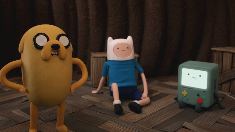 Illustration for article titled Adventure Time's Stop Motion Episode Looks Totally Mathematical