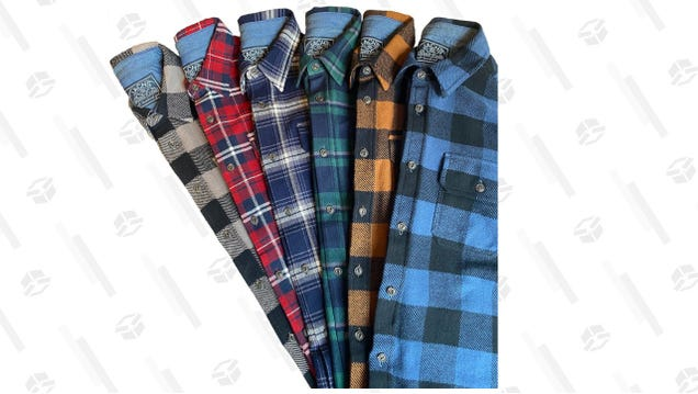 Bulk up Your Winter Wardrobe and Grab Any 3 Flannels for $75 at JACHS NY