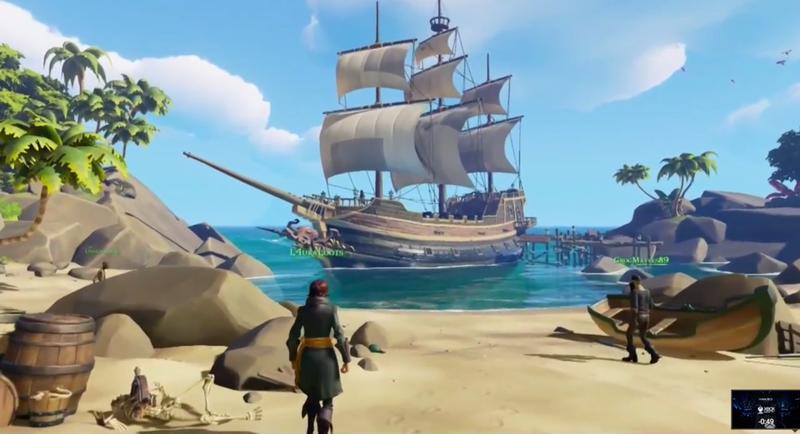 Illustration for article titled Sea of Thieves es lo nuevo de Rare: un juego de piratas en línea