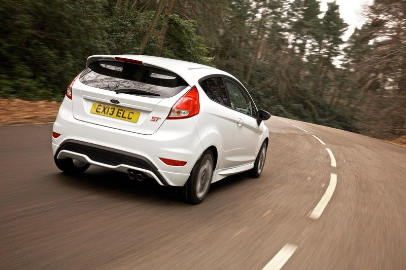 Illustration for article titled Just drove a Fiesta ST for the first time.