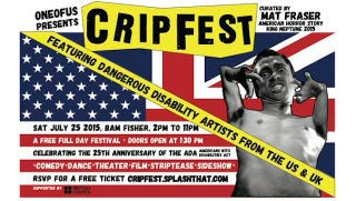 Illustration for article titled What Mat Fraser's Cripfest Taught Me About 'Crip Pride'