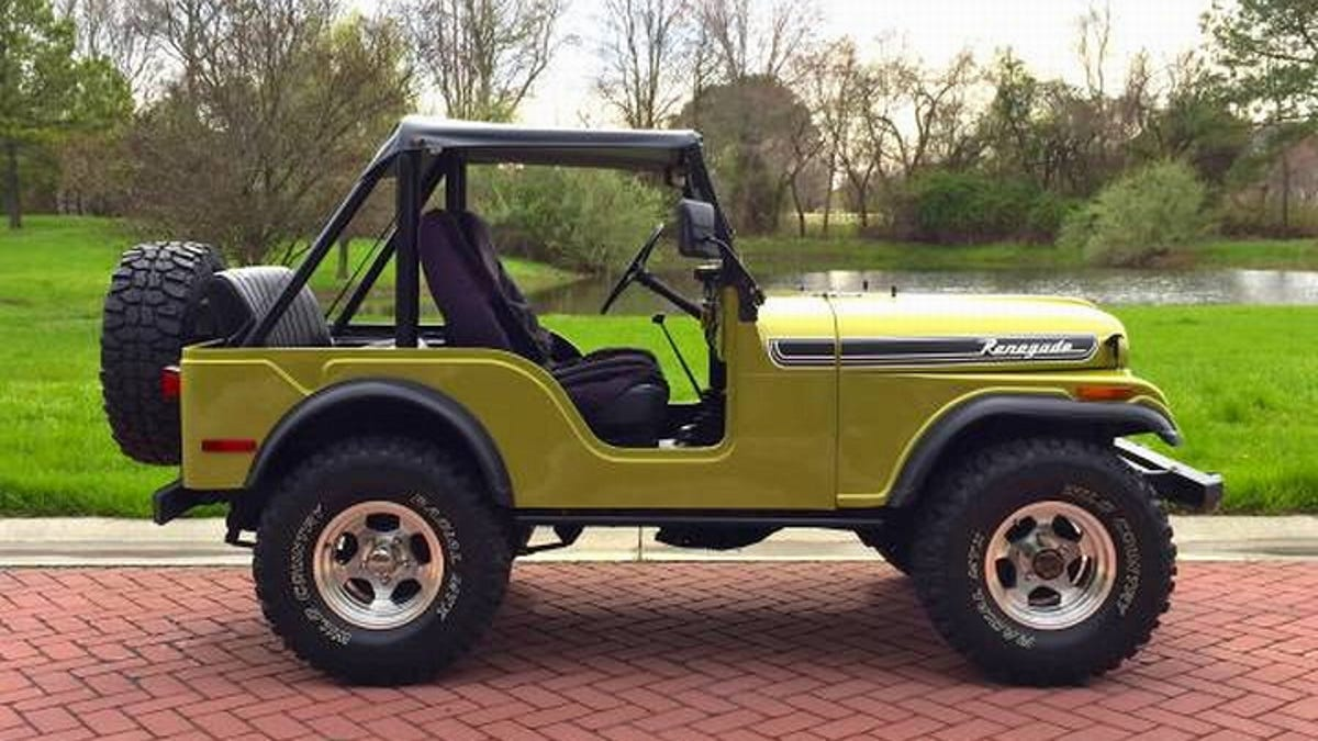 Enjoyable For 11 500 This 1972 Jeep Cj5 Laughs At Rust Wiring Cloud Peadfoxcilixyz