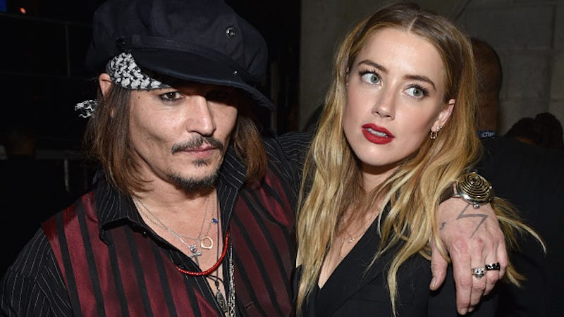 Illustration for article titled Amber Heard Files for Divorce From Johnny Depp 3 Days After His Mother Dies