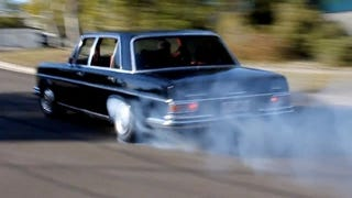 Illustration for article titled Burnouts In A 300SEL 6.3: Hoon Or Heresy?