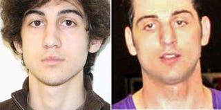 Dzhokhar Tsarnaev (handout/Getty Images News); Tamerlan Tsarnaev (Glenn DePriest/Getty Images)