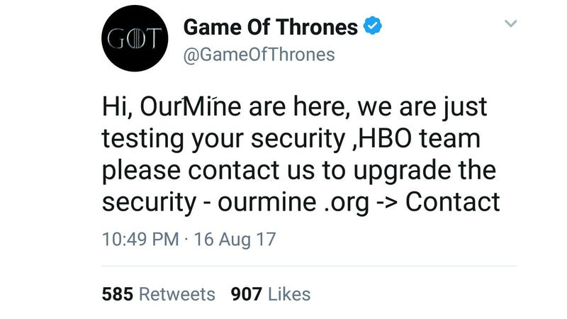 India Police arrest four for Game of Thrones leak