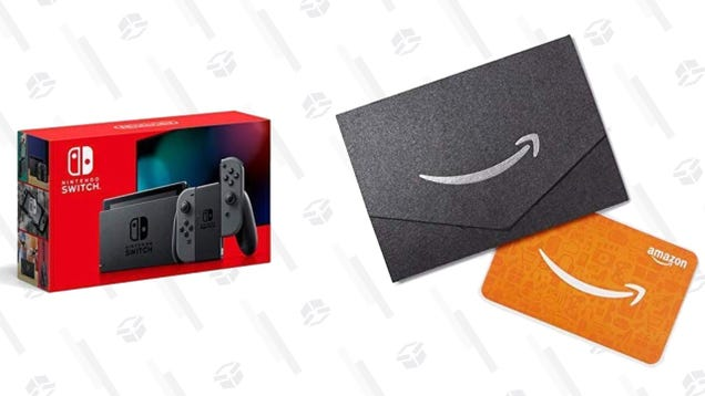 Buy a New Nintendo Switch (With Improved Battery Life), Get a Bonus $25 Amazon Gift Card
