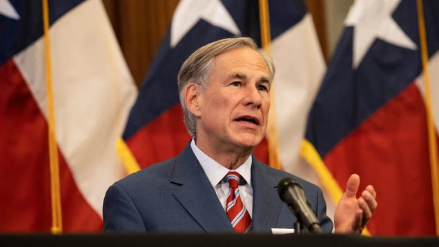 Texas Gov. Greg Abbott Tests Positive for Covid-19 Hours After Attending Maskless Campaign Event