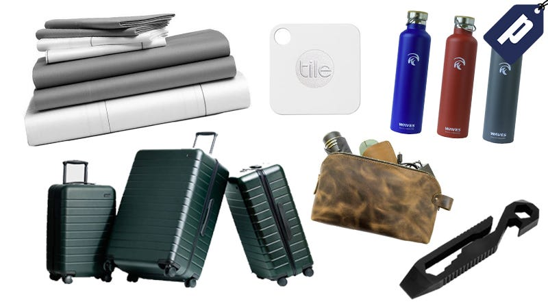 Illustration for article titled Give A Gift That'll Actually Get Used: Sheets, Luggage, Multi-Tools & More