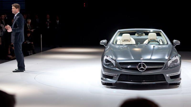 Illustration for article titled 2013 Mercedes-Benz SL65 AMG V12 Roadster: First Photos