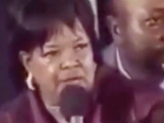 Pastor Shirley CaesarFacebook