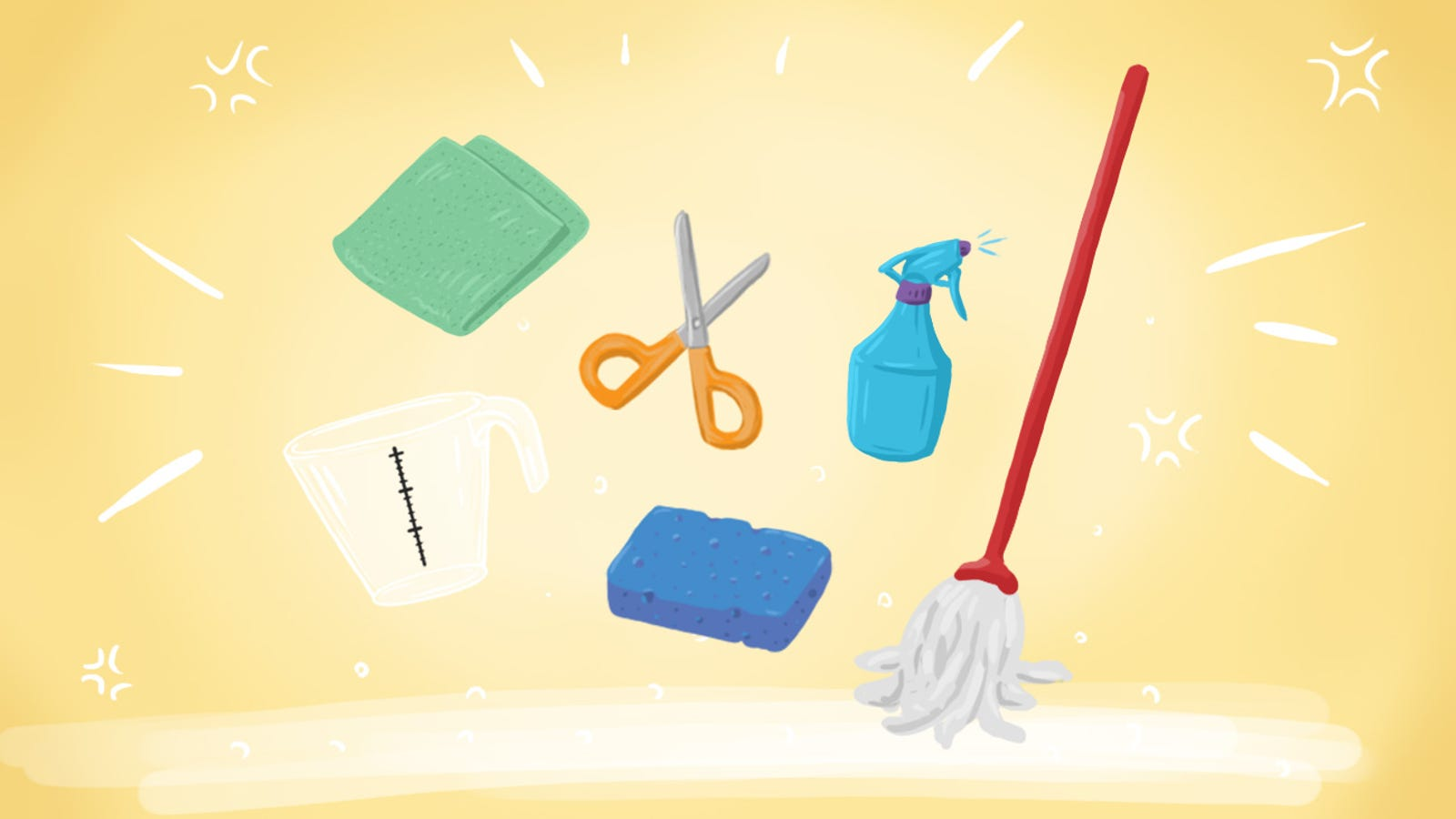 Top 10 Cleaning Products You Should Totally DIY