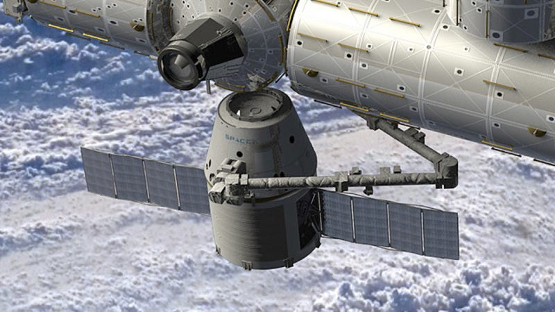 Illustration for article titled Cab Service to the International Space Station Will Begin Ahead of Schedule