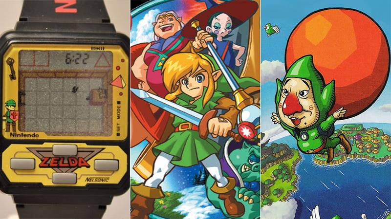 Illustration for article titled A Brief History of Non-Nintendo Made Zelda Games