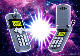 Illustration for article titled Giz Explains: What's the Difference between GSM and CDMA?