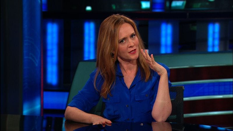 Illustration for article titled Samantha Bee is leaving The Daily Show to host her own show on TBS
