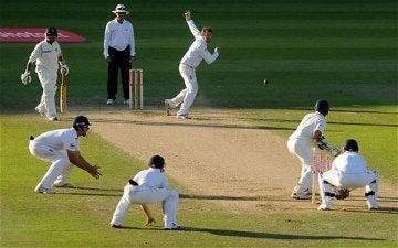 Some cricket gentlemen.