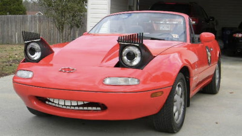 We Truly Cannot Decide Which Of These Miatas Is More Ridiculous