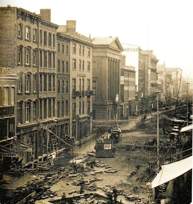 Manhatten New York: This Is Not The Oldest Photograph Of New York City