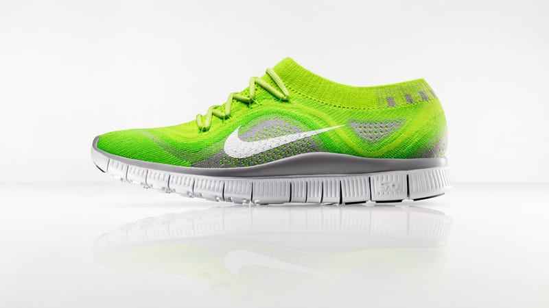 "Illustration for article titled Nike Free Flyknit: A Running Shoe as a ""Second Skin"""