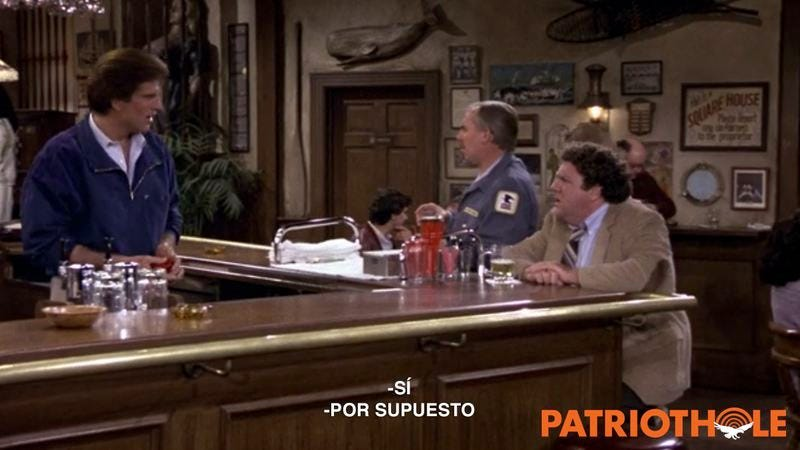 ATTENTION, PATRIOTS! The SICKOS At Netflix Are Translating 'CHEERS' Into EVIL SPANISH So ILLEGALS Can Learn Our PRECIOUS 'CHEERS' SECRETS