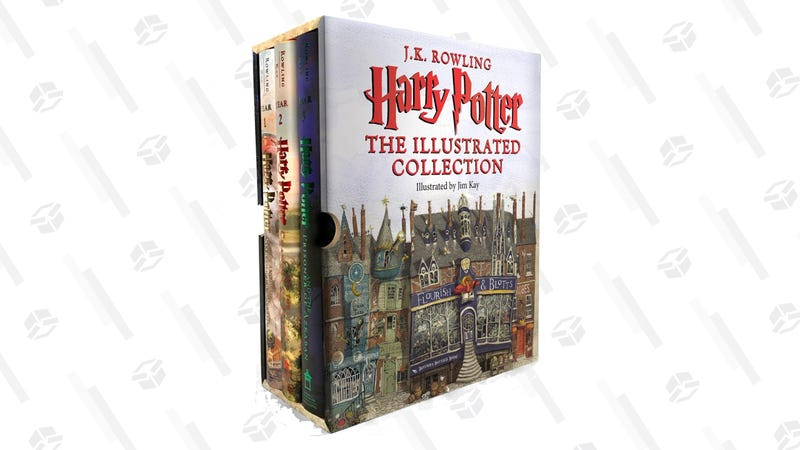 Harry Potter: The Illustrated Collection (Books 1-3 Boxed Set) | $54 | Amazon