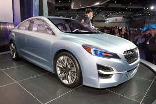 Illustration for article titled Subaru Impreza Concept Life