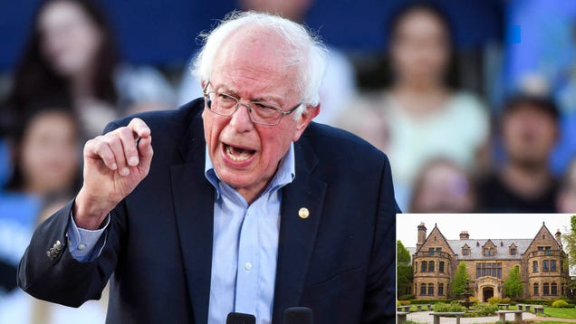 Bernie Sanders Unveils Plan To Tackle Income Inequality With Art Heist From Billionaire's Home