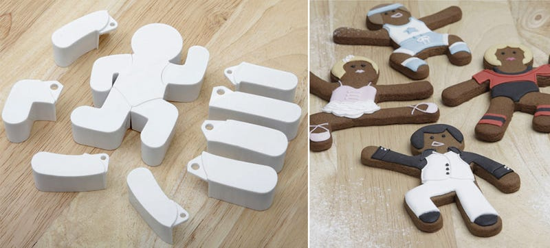 Illustration for article titled Make Your Gingerbread People Dance With These Posable Cookie Cutters
