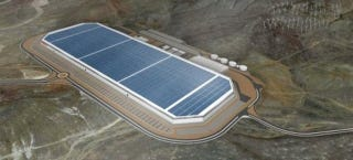 Illustration for article titled Gigafactory Is Go: Tesla Will Build Batteries in Nevada