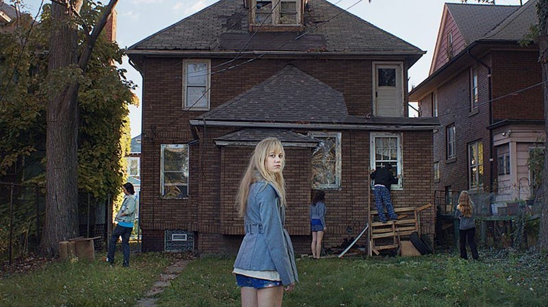 The monster is always creeping up on you in It Follows.