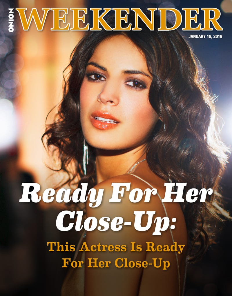Illustration for article titled Ready For Her Close-Up: This Actress Is Ready For Her Close-Up