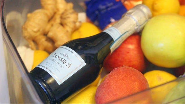 You Should Keep a Tiny Bottle of Bubbly in Your Fridge