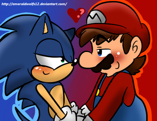 Illustration for article titled Mario and Sonic: Fan Fiction