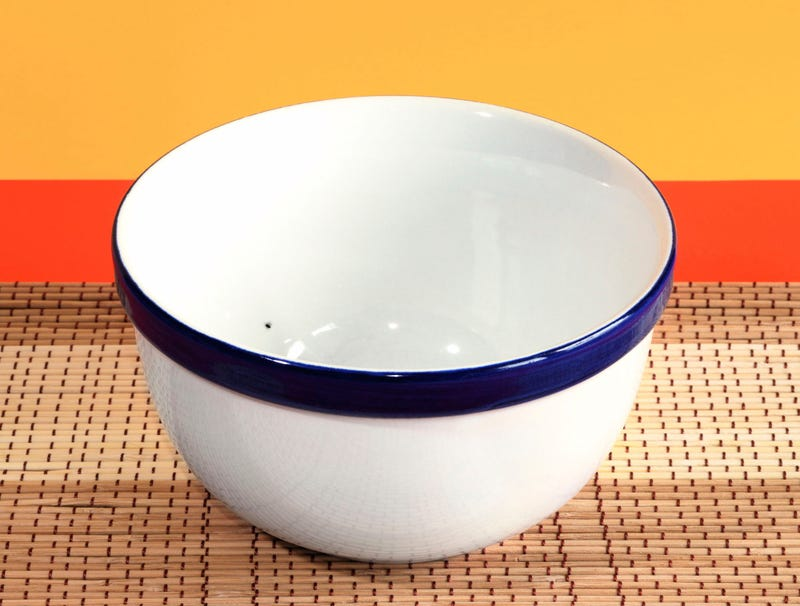 Illustration for article titled Weird Black Dot Actually Part Of Bowl