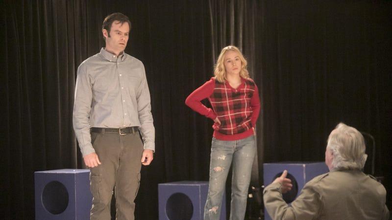 Bill Hader, Sarah Goldberg, and Henry Winkler in Barry