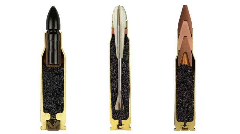 Illustration for article titled Cross-section photographs of bullets are strangely fascinating