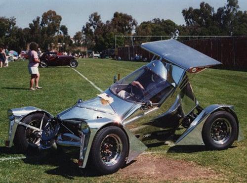 Homemade Tilting Electric Car Built For $500