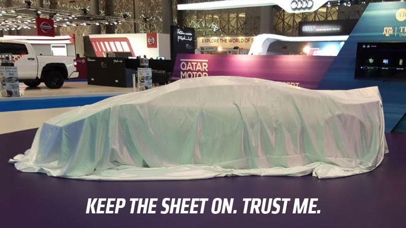 Illustration for article titled Qatar's First-Ever Sports Car Is Unveiled, But Maybe That Wasn't Such A Hot Idea