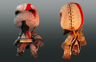 Illustration for article titled Kratos, Nariko Come To LittleBigPlanet Pre-orderers