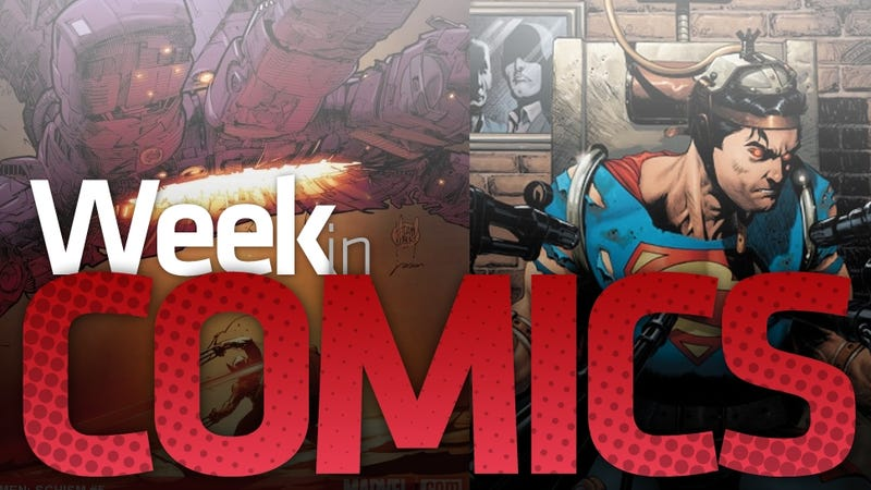 Illustration for article titled A Grand X-Men Finale, 1950's Avengers, Sonic and More of This Week's Comics Worth Buying