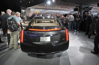 Illustration for article titled The Cadillac XTS Platinum Concept: When Two Become One